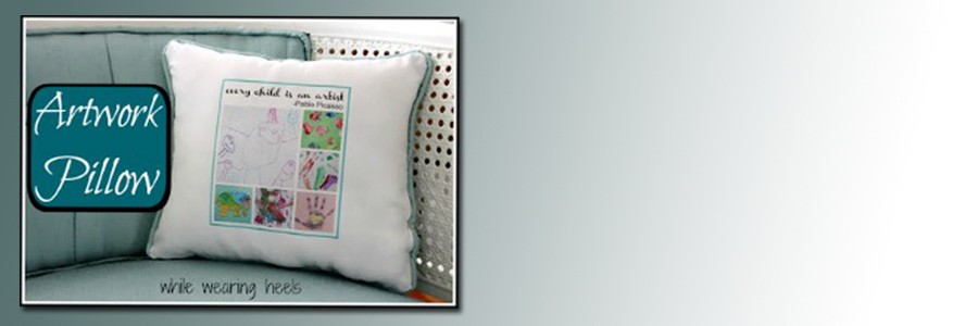 artwork pillow slider