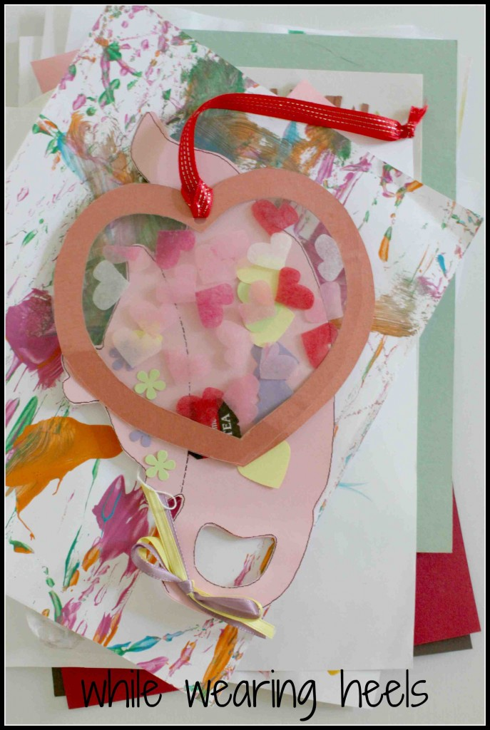 Turn Your Child's Artwork into a Keepsake Pillow by Amy of While Wearing Heels @Bonbon Break