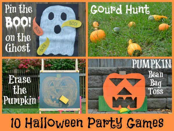 10 Halloween Games by The Pleasantest Thing