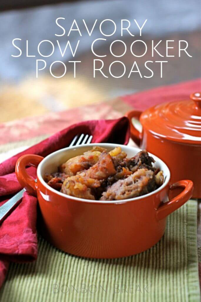 This slow cooker pot roast has an amazing gravy that will make it a family favorite.