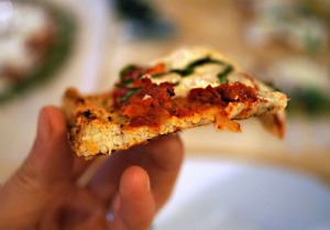 The Secret To Perfect Cauliflower Pizza Crust by Detoxinista @Bonbonbreak