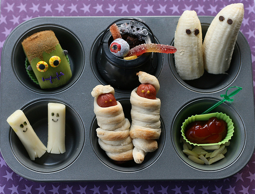 Muffin Tin Halloween by Another Lunch
