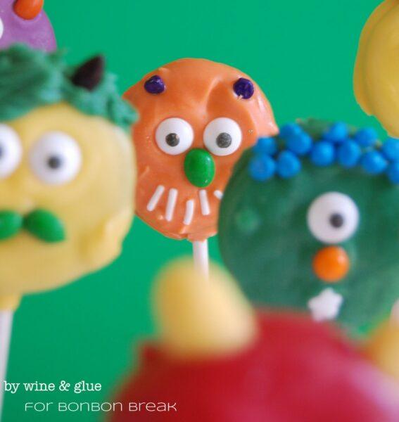 Oreo Monster Cookies for Halloween