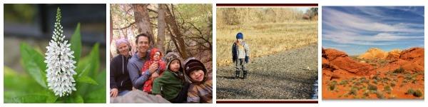 Gardens, Outdoor Families, Walks & Valley of Fire