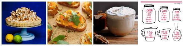 Meringue, Crostinis, Lattes and Kitchen Tips