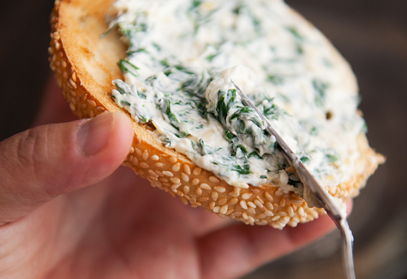 Spinach Artichoke Cream Cheese by Use Real Butter