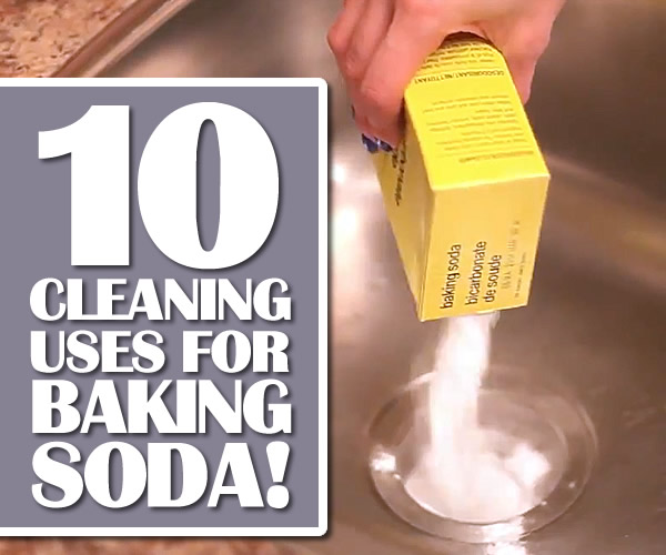 Top 10 Cleaning Uses For Baking Soda By Clean My Space