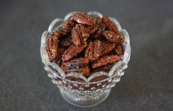 Toasty Pecans with Sweet and Savory Spice by Butter Me Up Brooklyn
