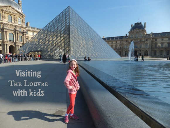 visting the louvre with kids