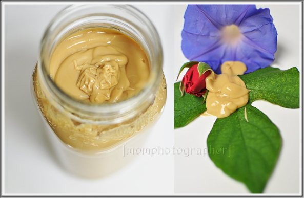 Coffee body lotion by Mom Photographer