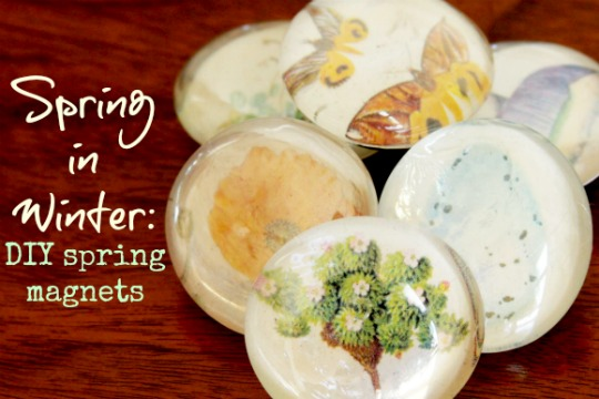 DIY Spring Magnets by Thistle and Leaves