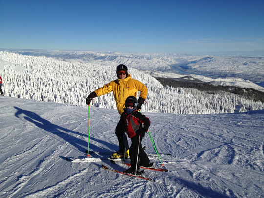 Motivated Little Skiers by Odyssey Outdoors
