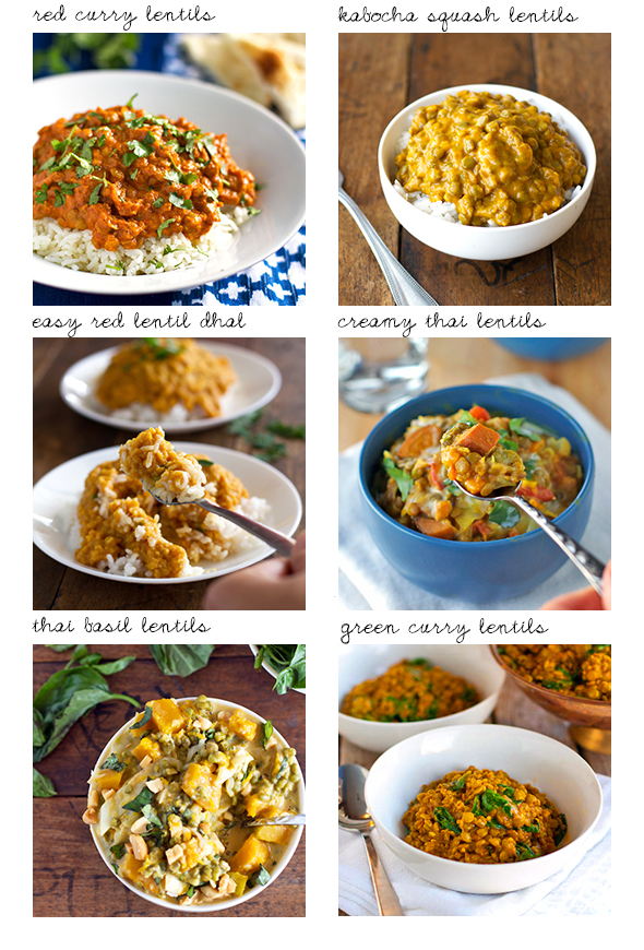 Favorite Lentil Recipes by Pinch of Yum