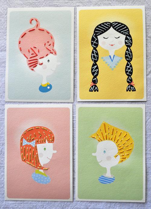 Printable Sewing Card Activity