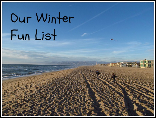 Our 2013 Winter Fun List by Go Explore Nature