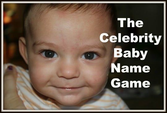 The celebrity baby name game