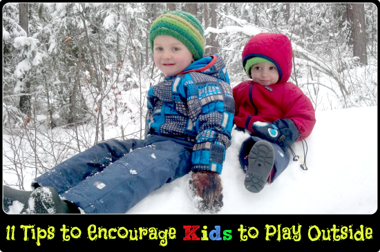 11 Tips to Encourage Kids to Play Outside