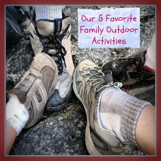 Our 5 Favorite Family Outdoor Activities by Debi Huang of Go Explore Nature 5 Favorite Family Outdoor Activities plain
