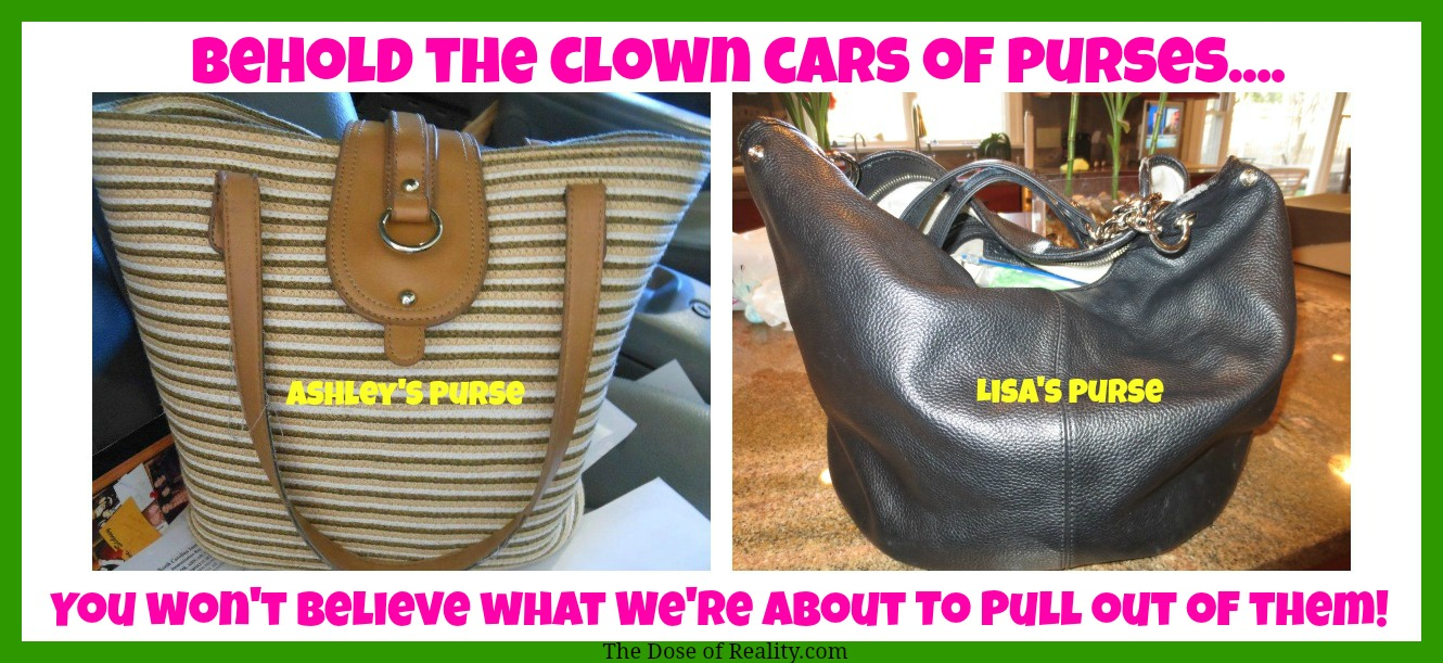 Top 10 Reasons Our Purses Are Dragging Us Down by The Dose of Reality