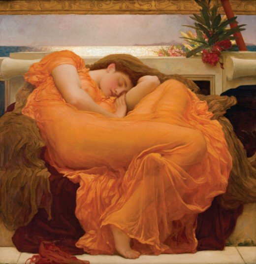How has the cultural view of body changed over the years? (Artist ~ Fredrick Leighton)