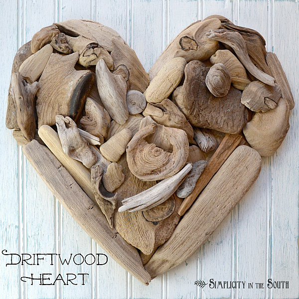 Driftwood Heart Art {Tutorial}