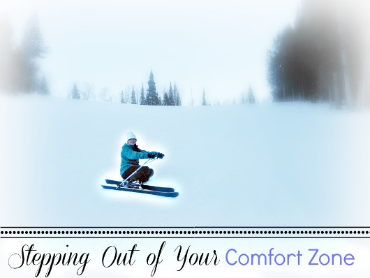 Stepping Out of Your Comfort Zone by Climb Run Lift Mom