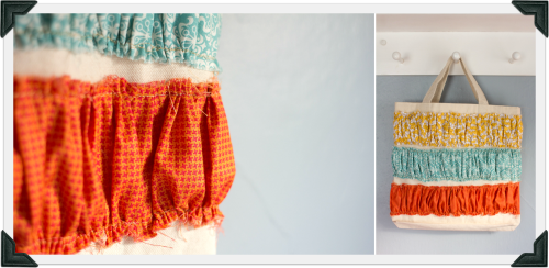 Ruffled Tote Tutorial by Dandelions on the Wall ToteTutorial 10