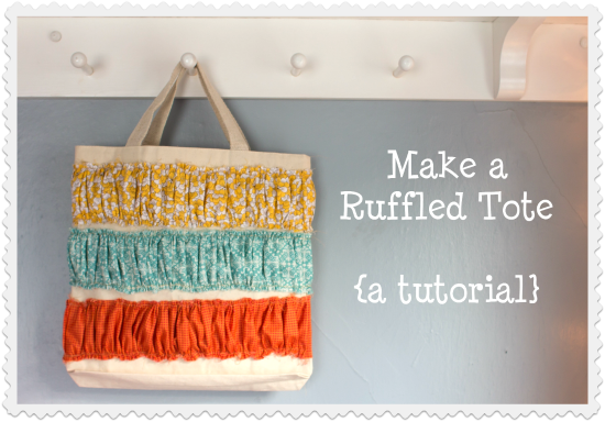 Ruffled Tote Tutorial by Dandelions on the Wall ToteTutorial 13