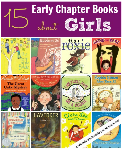 Early Chapter Books about Girls by What Do We Do All Day girls stand alone books bonbon