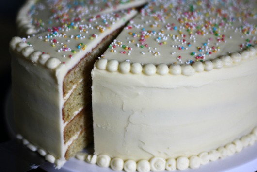 How to Frost a Layer Cake by Butter Me Up Brooklyn how to frost a layer cake