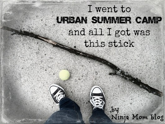 Bees and Skinned Knees: Summer Camp by Nicole Leigh Shaw of Ninja Mom Blog ninja mom blog