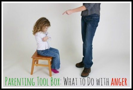 Parenting Toolbox: What to Do with Anger by Lynn of Perspective Parenting parenting tool box anger
