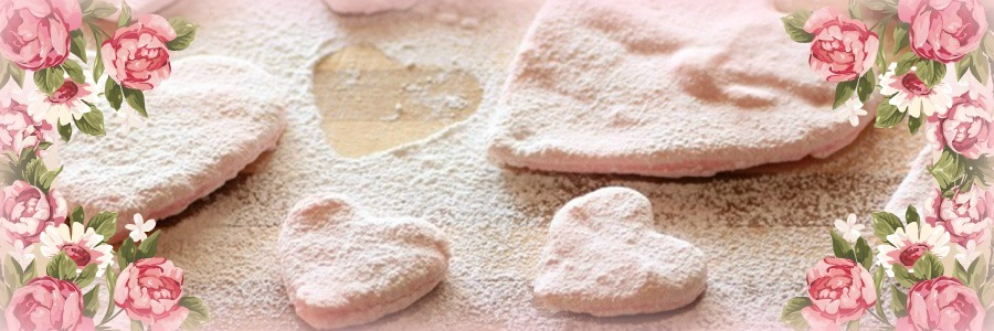 Homemade Pretty in Pink Valentine's Marshmallows