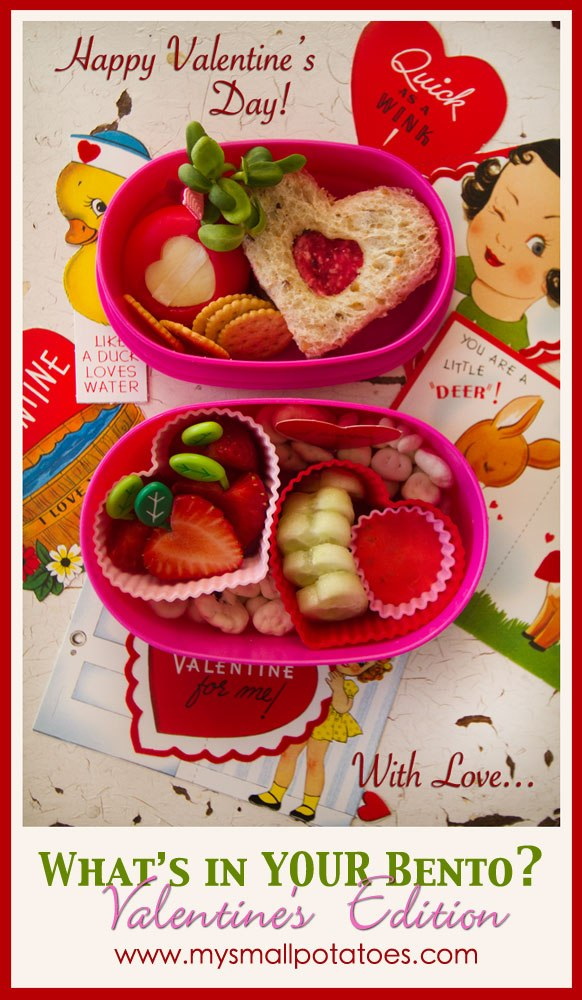 What's in YOUR Bento? Valentine's Edition by Small Potatoes