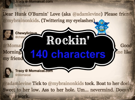 twitter rockin 140 characters