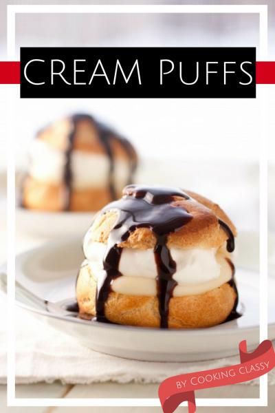 Cream Puffs Recipe - light and fluffy desert that is a crowd winner