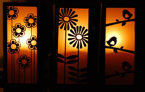 paper lantern luminaries tutorial DIY