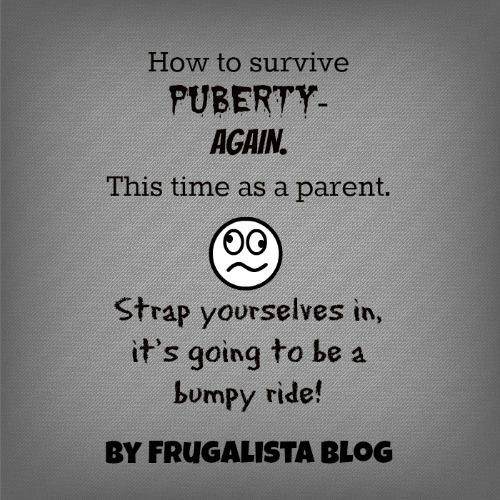 Let's hop on the puberty roller coaster and go for a ride! by Frugalista blog