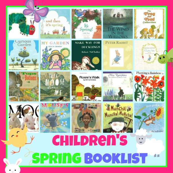 childrens spring book list