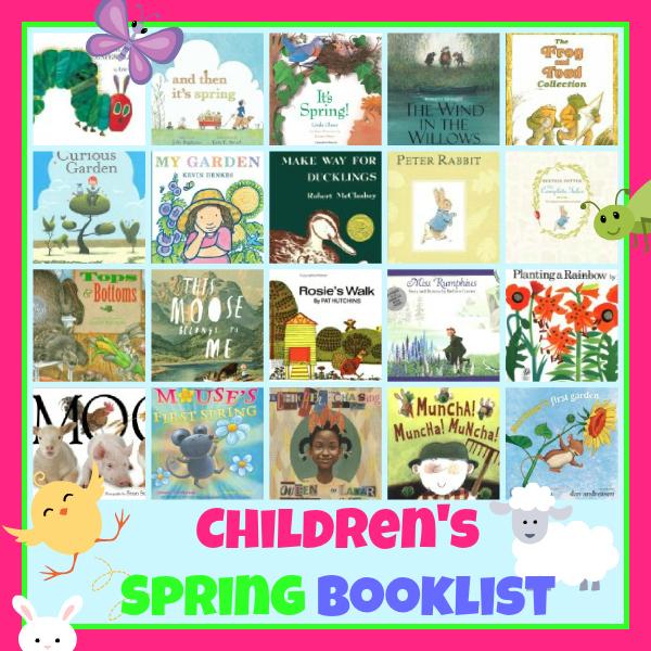 childrens spring book list