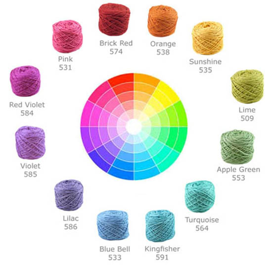 Color Theory 101 Selecting Yarns That Go Together