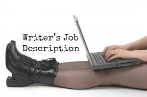 writers job description