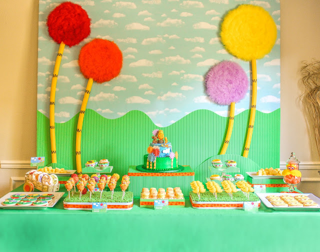 """The Lorax Party (Part 3): The Lorax """"show"""" and Party Favors by The Party Wall"""