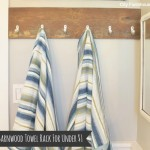 City Farmhouse-Barnwood Towel Rack Landscape