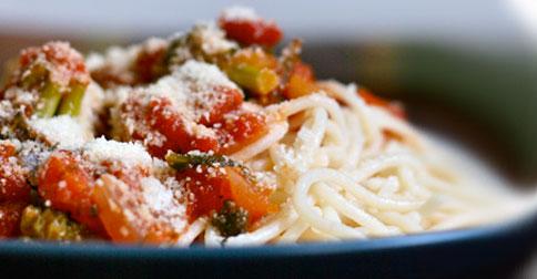 Daniel Tiger's Veggie Spaghetti Recipe {gluten-free}