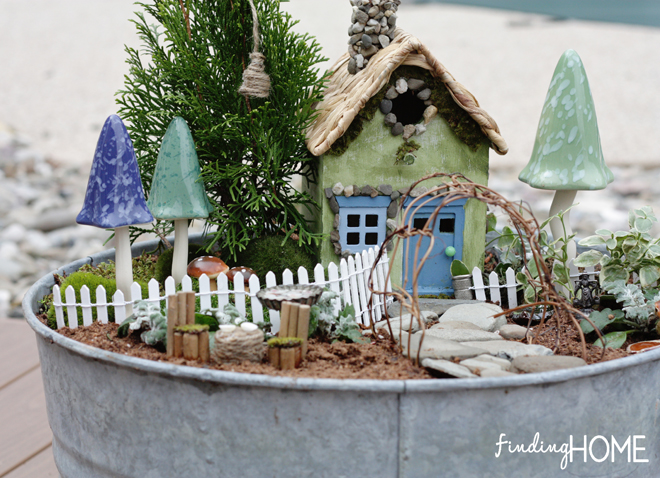 Our Fairy Garden by Finding Home