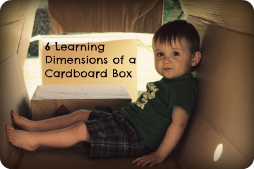 What Cardboard Boxes Can Teach Kids by Moving Smart