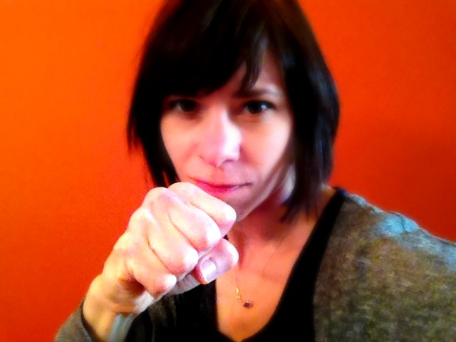 I could have been a contender…{my attempt at a boxing class} by Full of It