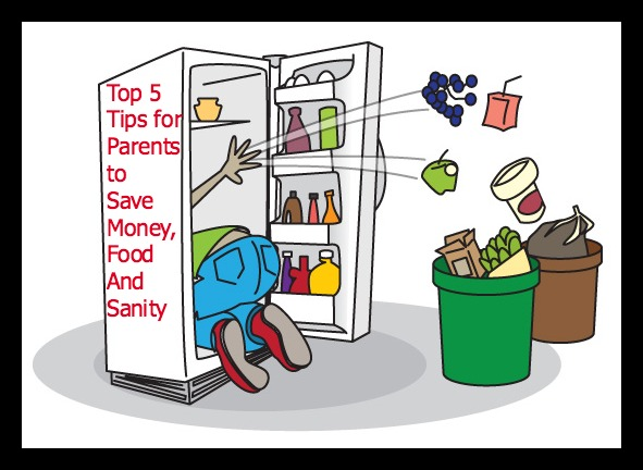 How to Save Money, Food And Your Sanity – Top 5 Tips For Parents by Multiple Mayhem Mama