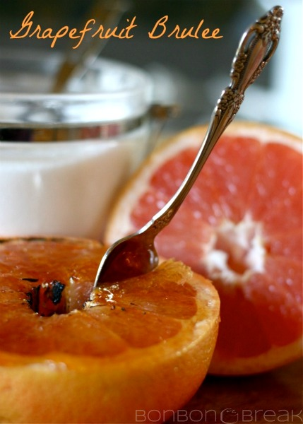 Grapefruit Brûlée by Sharalyn Lehman of Bonbon Break grapefruit brulee recipe 5